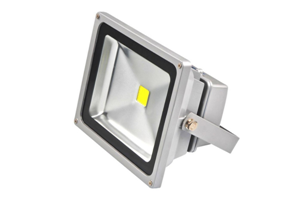 50W Pure White LED Flood Light