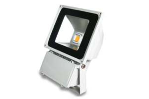 80W White LED Flood Light