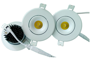 Downlight de led 7W Blanco COB
