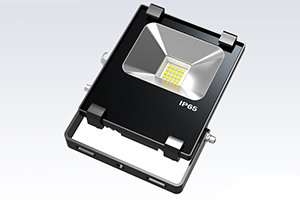 10W Finned LED Flood Light