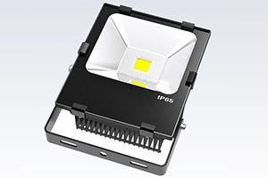 50W Finned LED Flood Light