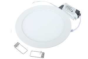 300x14mm 24W Round LED Panel Light