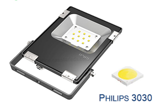 10W High lumen Philips chip Ultra Slim LED Flood Lights
