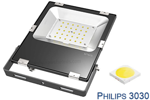 Proyector de LED Ultra Slim 30W Philips Negro