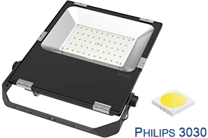 80W New design Philips chip Ultra Slim LED Flood Lights