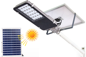 Solar-Powered 40W Integrated LED Street lights